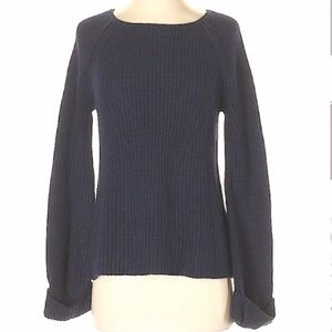 Navy Blue Ann Taylor Sweater